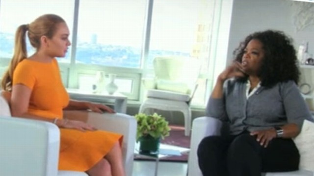 "VIDEO: Founder of OWN network discusses her upcoming docuseries with the ""Mean Girls"" actress."