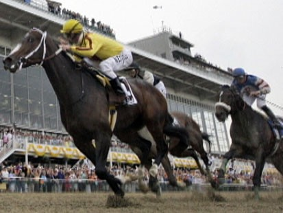VIDEO: ESPNs racing analyst Jeannine Edwards has all the details on the Preakness.