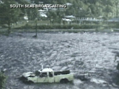 VIDEO: American Samoa radio broadcaster Joey Cummings describes the disaster.