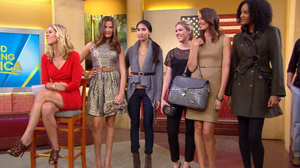 "PHOTO People StyleWatch magazines Kate Dimmock appeared on ""Good Morning America"" today to share the 5 hottest new trends for fall ? fresh from the runways of New Yorks Fashion Week."