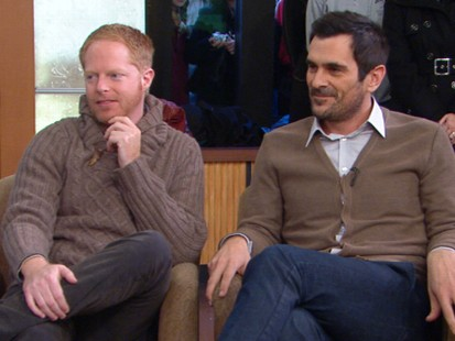VIDEO: Jesse Tyler Ferguson and Ty Burrell reveal secrets about show.