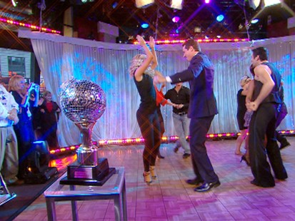 "VIDEO: Finalists from ""Dancing With the Stars"" take their last dances."
