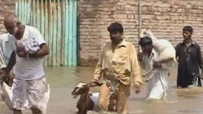 VIDEO: Flooding in Pakistan