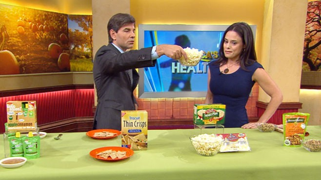 VIDEO: Womens Health lists the healthiest 125 packaged-food alternatives.