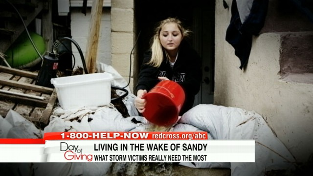 VIDEO: Toiletries and generators add to list of supplies victims need in wake of storm.