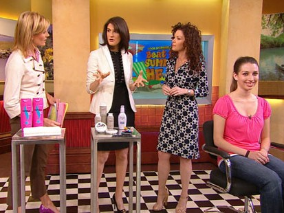VIDEO: Allure magazines Kristin Perrotta shows how to have smooth and silky hair.