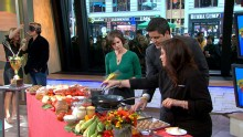 Good Morning America: GMA 11/08: 'Iron Chef' Stars in Cook-off Competition