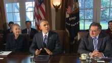 Good Morning America: GMA 12/01: Obama Balances Fiscal Cliff, Defense Department Appointment