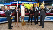Good Morning America: GMA 12/03: Heidi Klum Visits