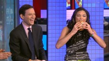 Good Morning America: GMA 12/08: Anchors Taste World's Most Expensive Burger