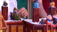 Good Morning America: GMA 12/25: Christmas Day Gingerbread House Challenge