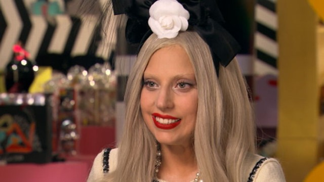 """VIDEO: Robin Roberts chats with singer as she prepares for """"A Very Gaga Thanksgiving."""""""