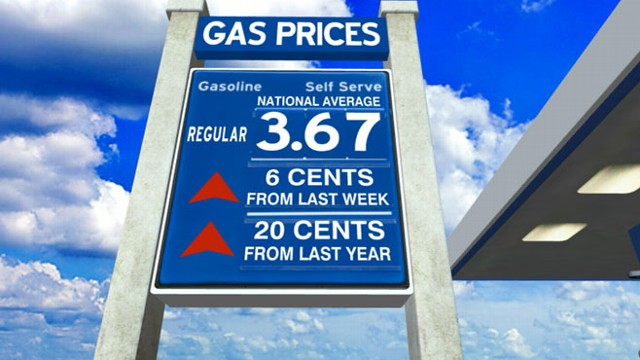 VIDEO: Experts say fuel prices could rise 5 to 15 cents per gallon this summer.