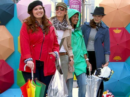 VIDEO: Glamours Suze Yalof Schwartz shows off some of her favorite spring raincoats.