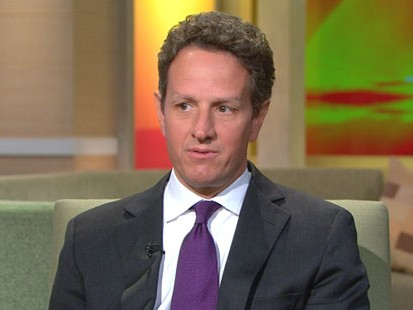 VIDEO: Tim Geithner talks about the stimulus, jobs and the economic future.