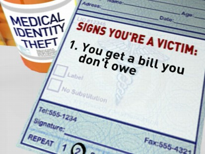 VIDEO: Authorities say medical identity theft is becoming more sophisticated.
