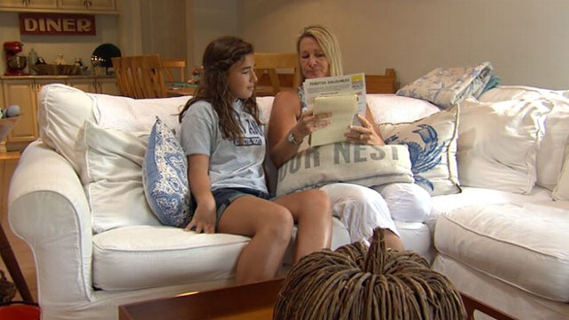 VIDEO: One mother is fighting back after her daughter was labeled overweight by her school.