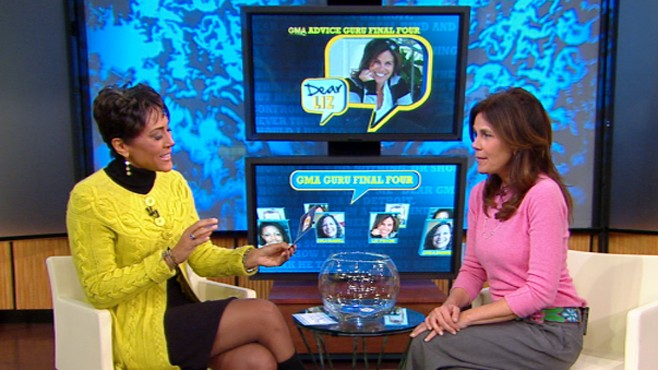 "VIDEO: Liz Pryor answers your questions on the ""GMA"" set as our guru search continues."