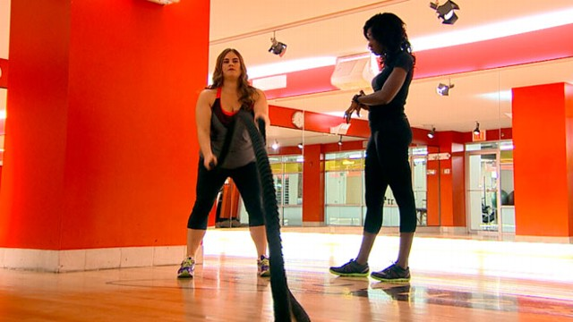 VIDEO: Fed up with yo-yo dieting, one woman decided simply to trust her body.