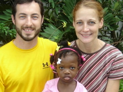 VIDEO: Haiti Orphan Officially Adopted
