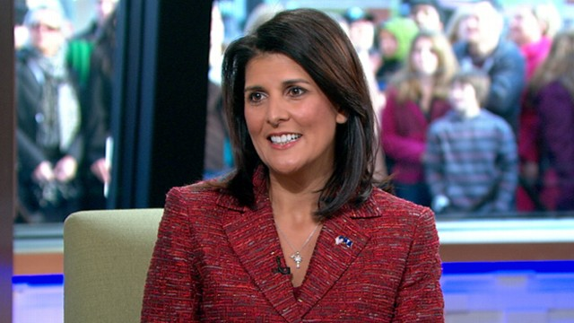 VIDEO: South Carolinas governor is a rising star amongst her Republican colleagues.