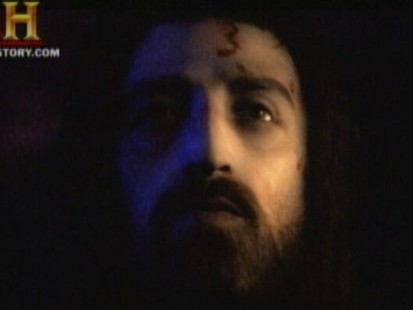 VIDEO: The History Channel unveils a new image based on studies of the Shroud of Turin.