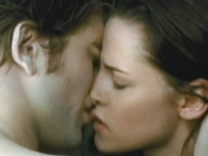 VIDEO: Despite the steamy ads, the new vampire flick is more about romance than sex.