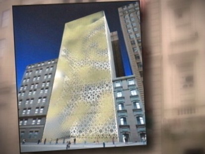 VIDEO: New York Landmarks Board is expected to reject proposal to landmark building.