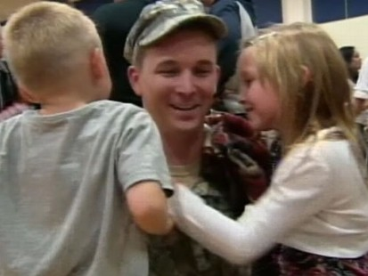 VIDEO: Troops celebrate coming home from Iraq