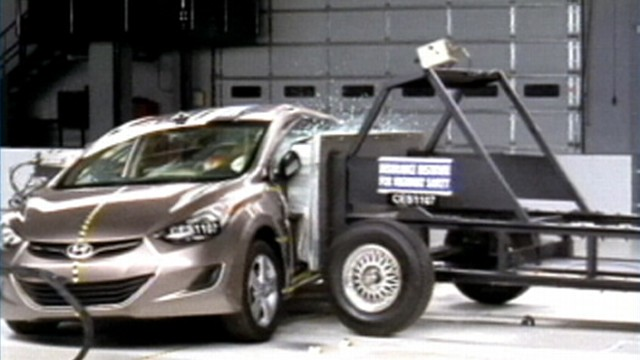 VIDEO: New study shows remarkable progress in the safety of small cars.