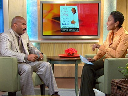 VIDEO: Author Steve Harvey talks to six guys seeking relationship advice.