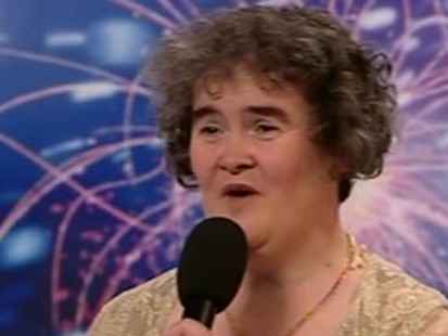 VIDEO: Talent Star Susan Boyle Places Second