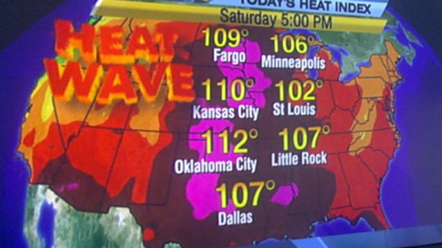 VIDEO: Temperatures with humidity will feel well over 110 degrees in parts of U.S.