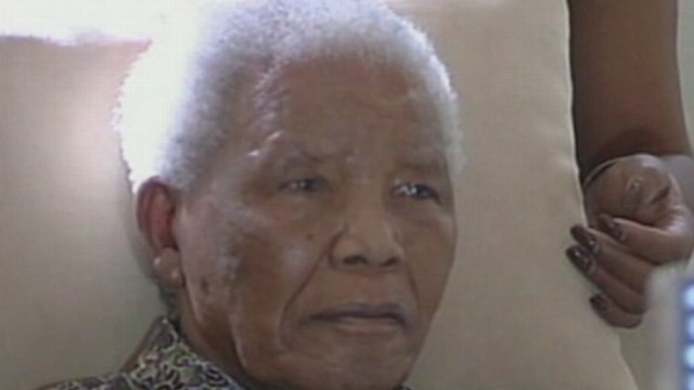 VIDEO: The 95-Year-Old South African leader was rushed to the hospital over the weekend.