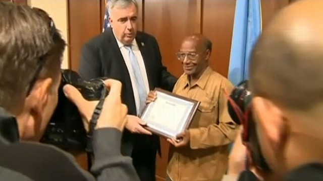 VIDEO: Boston Homeless Man Honored for Good Deed
