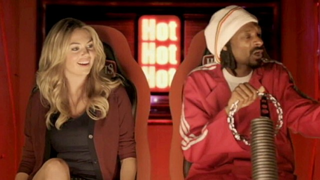 Watch Kate Upton and Snoop Lion Eat Hot Pockets