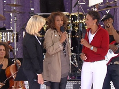 "VIDEO: Whitney Houston talks about her life and her new album ""I Look to You."""