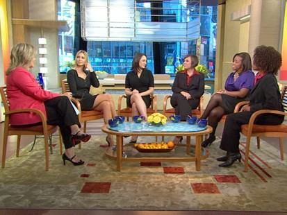 VIDEO; Donalds daughter leads a discussion of women in the workplace.