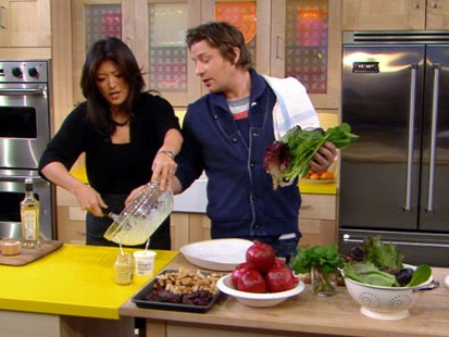 VIDEO: Jamie Oliver has a great appetizer to start out your big family feast.