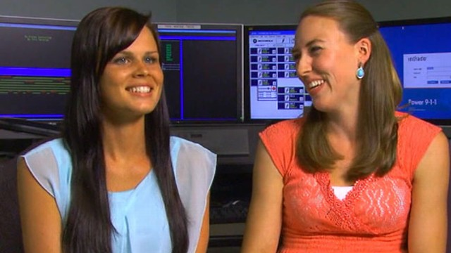 VIDEO: A dispatcher felt so bad for a caller that she asked boss for OK to lend the bride her dress.