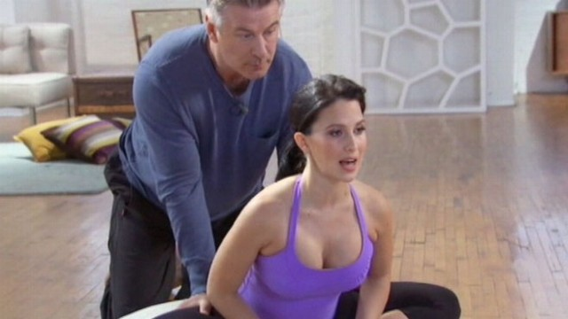 VIDEO: Alec Baldwin Does Yoga Video With Wife Hilaria