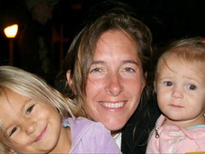 Nancy Cooper and her children