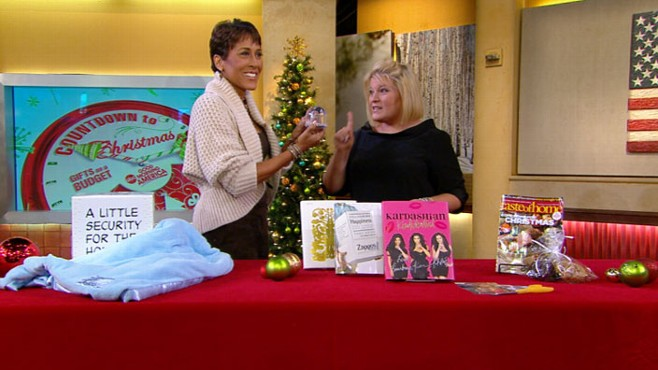 VIDEO: Tory Johnson suggests presents for loved ones that also aid charitable organizations.