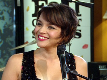 "VIDEO: The jazz singer talks about her latest album, ""The Fall."""