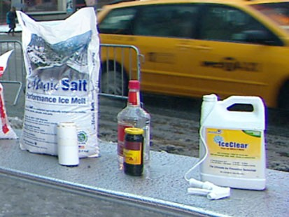 VIDEO: Envirnonmentally friendly alternatives to rock salt.