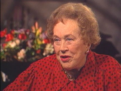 VIDEO: Julia Child talks with Charles Gibson about her long cooking career.