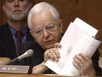 VIDEO: Senator Robert Byrd Dies