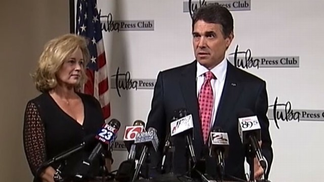 VIDEO: Rick Perry 'Poll' Vault: New GOP Frontrunner?