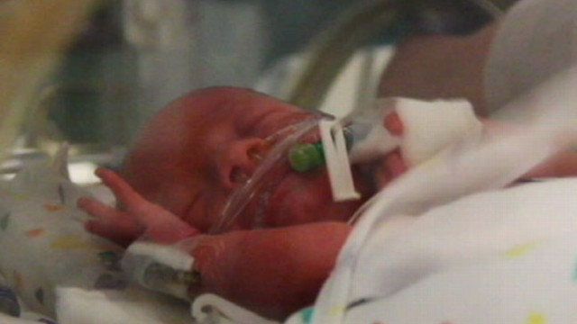 VIDEO: Intense moments when a mother gave birth on I-80 were captured in a 911 call.