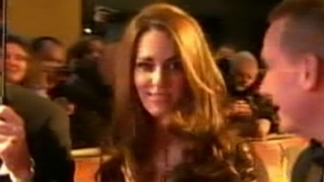 "VIDEO: Duchess of Cambridge turns 30 in style at London premiere of ""War Horse."""